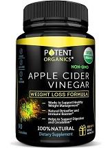 Potent Organics Apple Cider Vinegar for Health & Well-Being