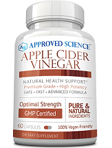 Approved Science Apple Cider Vinegar for Health & Well-Being