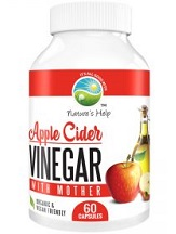 Nature's Help Apple Cider Vinegar with Mother for Health & Well-Being
