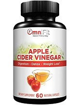 OmniFit Apple Cider Vinegar for Health & Well-Being